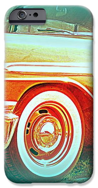 Classic car patiently waiting  iPhone Case by Hilde Widerberg