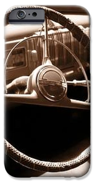Classic Cars iPhone Case by Edward Fielding