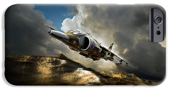 Iraq Prints iPhone Cases - Classic Harrier iPhone Case by Peter Van Stigt