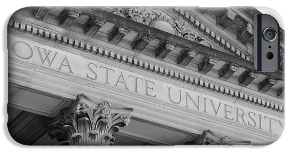 Recognition iPhone Cases - Classic Iowa State University iPhone Case by University Icons