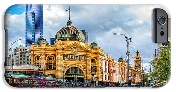 Storm iPhone Cases - Classic Melbourne iPhone Case by Az Jackson