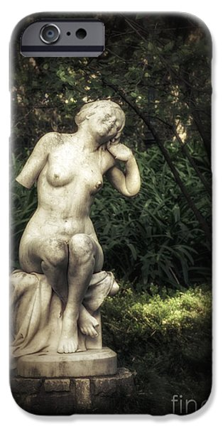Sleepy iPhone Cases - Classic Statue iPhone Case by Carlos Caetano