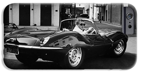 Steve Mcqueen iPhone Cases - Classic Steve McQueen Photo iPhone Case by Nomad Art And  Design