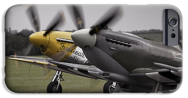 Ferocious Frankie iPhone Cases - Classic Warbirds iPhone Case by J Biggadike
