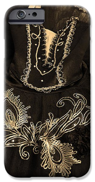 Classically Costumed XIV iPhone Case by Cassandra Buckley