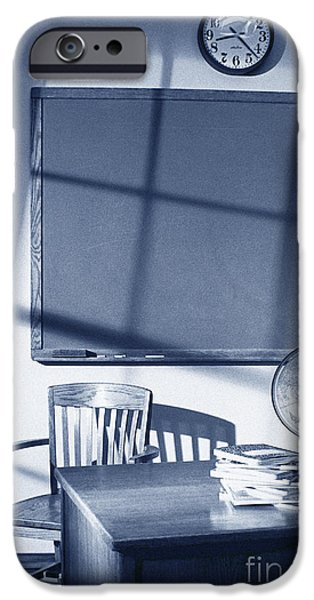 Business iPhone Cases - Classroom iPhone Case by Tony Cordoza
