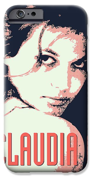 Sex Digital iPhone Cases - Claudia C iPhone Case by Chungkong Art