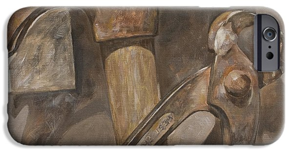 Work Tool Paintings iPhone Cases - Clawhammer 2 iPhone Case by Anke Classen
