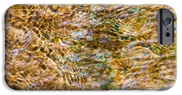 Effervescence iPhone Cases - Clean Stream 1 - Featured 2 iPhone Case by Alexander Senin