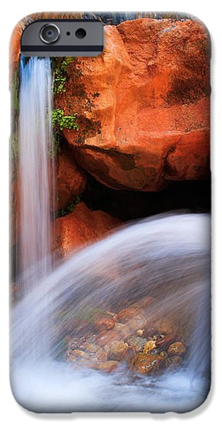 Clear Creek Falls iPhone Case by Inge Johnsson