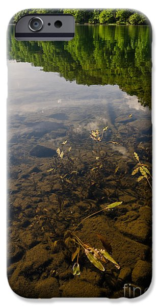 Crank iPhone Cases - Clear Waters iPhone Case by Anthony Heflin