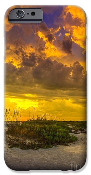 Gulf Of Mexico iPhone Cases - Clearing Skys iPhone Case by Marvin Spates