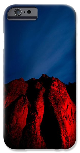Clearville iPhone Cases - Clearville Rock iPhone Case by Cale Best