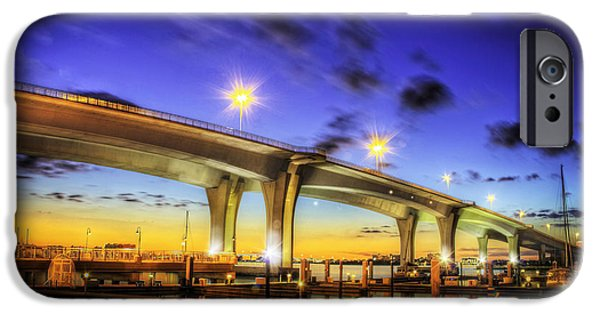 Recently Sold -  - Bay Bridge iPhone Cases - Clearwater bridge iPhone Case by Marvin Spates