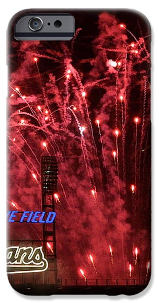 Cleveland Indians iPhone Case by Frozen in Time Fine Art Photography