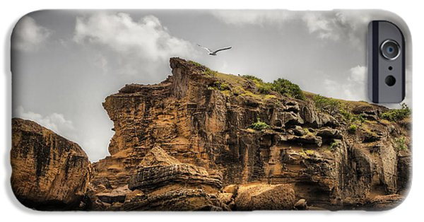 iPhone Cases - Cliff in Antigua iPhone Case by Pier Giorgio Mariani