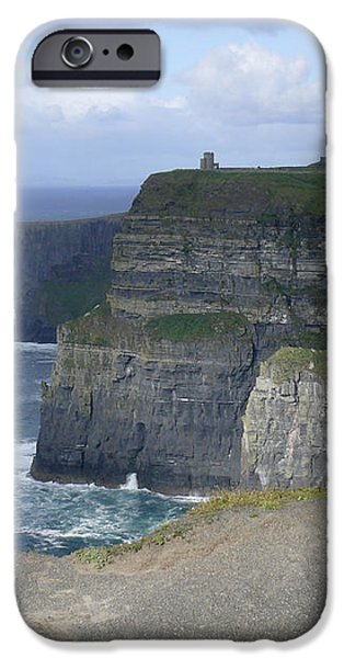 Cliffs of Moher 4 iPhone Case by Mike McGlothlen