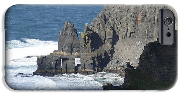 Ledge iPhone Cases - Cliffs of Moher 6 iPhone Case by Mike McGlothlen