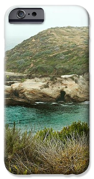 Cliffs Over Montana de Oro California iPhone Case by Artist and Photographer Laura Wrede