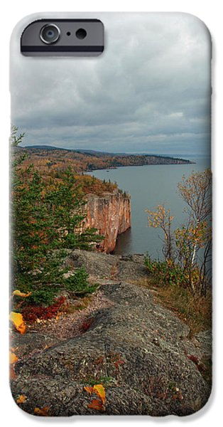 Best Sellers -  - Ledge iPhone Cases - Cliffside Fall Splendor iPhone Case by James Peterson