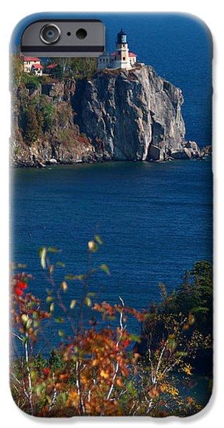 Ledge iPhone Cases - Cliffside Scenic Vista iPhone Case by James Peterson