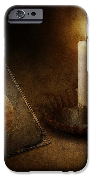Clock - Memories Eternal iPhone Case by Mike Savad