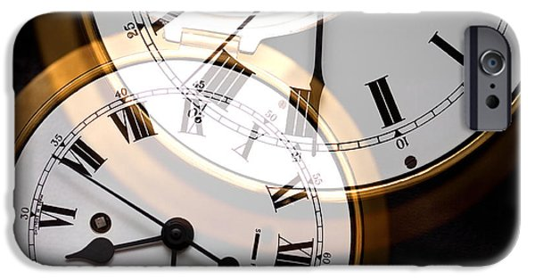Dining Hall iPhone Cases - Clock iPhone Case by Natalie Kinnear