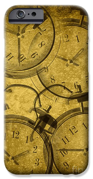 Clock iPhone Cases - Clocks iPhone Case by Amanda And Christopher Elwell