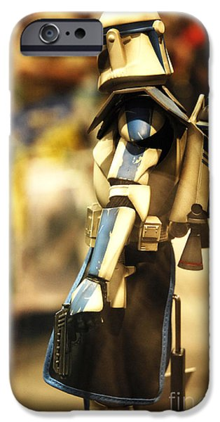 Clone Trooper iPhone Case by Micah May