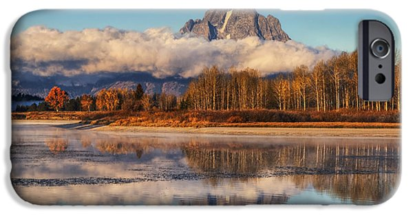 Moran iPhone Cases - Close of Autumn iPhone Case by Mark Kiver