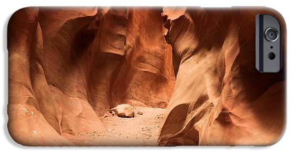Holes In Sandstone iPhone Cases - Closing In iPhone Case by Adam Jewell