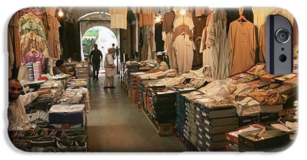 Adults Only iPhone Cases - Clothing Stores In A Market, Souk iPhone Case by Panoramic Images