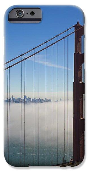 Cloud City iPhone Case by Darren Patterson