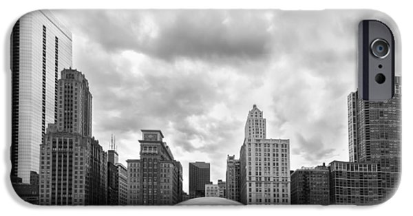 Stainless Steel iPhone Cases - Cloud Gate iPhone Case by Semmick Photo