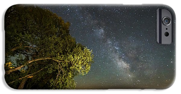 Willow Lake iPhone Cases - Cloud of Stars iPhone Case by Matt Molloy