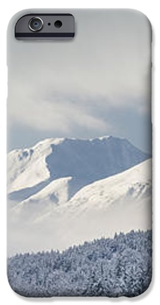 Clouds Clearing From The Kenai iPhone Case by Kevin Smith