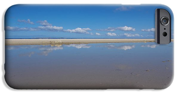North Sea iPhone Cases - Clouds Game iPhone Case by Angela Doelling AD DESIGN Photo and PhotoArt