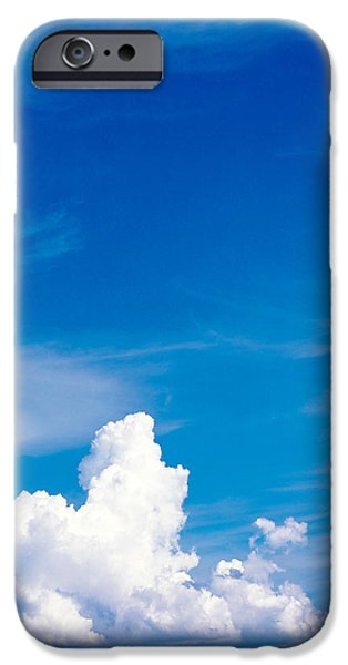 Freedom iPhone Cases - Clouds In Sky iPhone Case by Panoramic Images