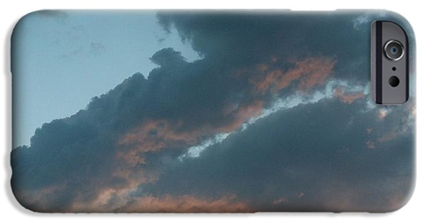 Forest iPhone Cases - Clouds iPhone Case by Mark Eisenbeil