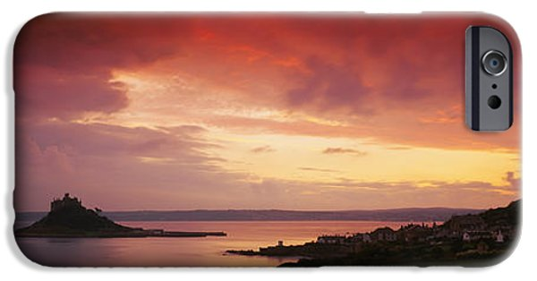 Michael iPhone Cases - Clouds Over An Island, St. Michaels iPhone Case by Panoramic Images