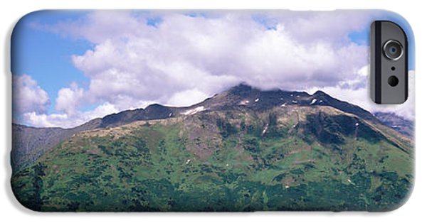 Generic iPhone Cases - Clouds Over Mountain Range, Seward iPhone Case by Panoramic Images