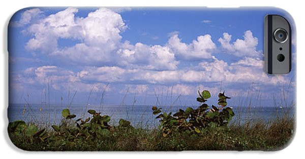 North Sea iPhone Cases - Clouds Over The Sea, Tampa Bay, Gulf Of iPhone Case by Panoramic Images