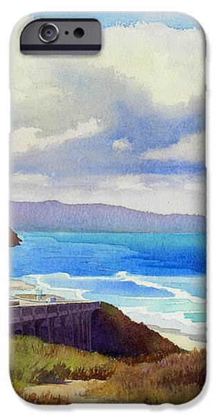 Clouds over Torrey Pines iPhone Case by Mary Helmreich