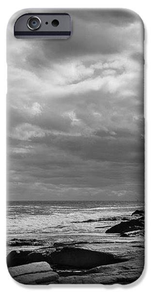 Clouds Rolling In iPhone Case by Diane Diederich