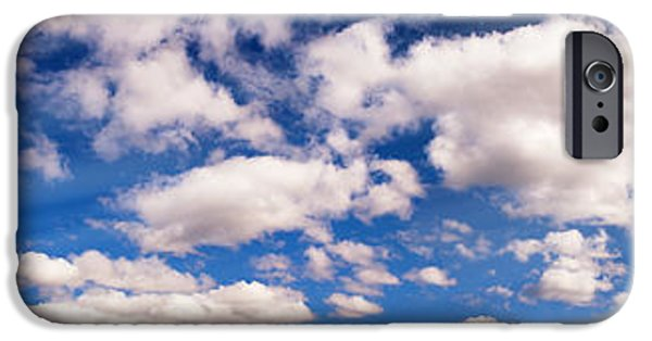 Stratosphere iPhone Cases - Cloudscape Sun Rays iPhone Case by Aleksey Tugolukov