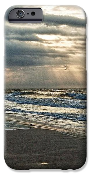 Cloudy Sunrise iPhone Case by Michael Thomas