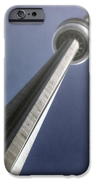High Tower iPhone Cases - CN tower iPhone Case by Joana Kruse