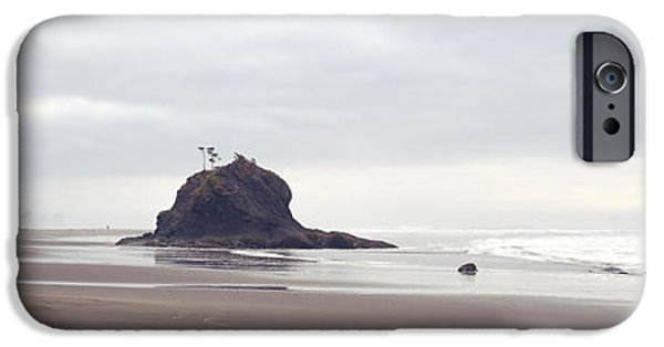 Beach Landscape iPhone Cases - Coast La Push Olympic National Park Wa iPhone Case by Panoramic Images
