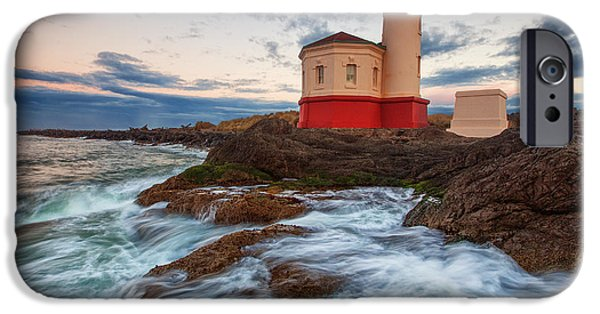 Lighthouse iPhone Cases - Coastal Awakening iPhone Case by Darren  White