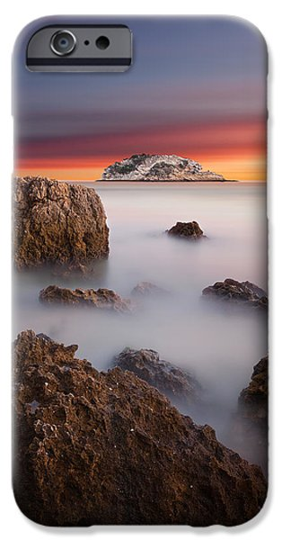 Waterscape iPhone Cases - Coastal glory iPhone Case by Jorge Maia